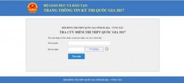 Các cách tra cứu điểm thi THPT quốc gia 2017