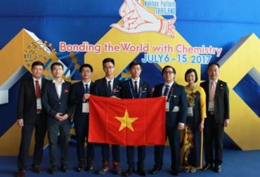 Việt Nam giành 4 huy chương tại kỳ thi Olympic Hóa học quốc tế