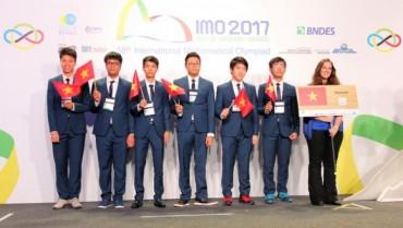 Viêt Nam giành 6 huy chương tại cuộc thi Olympic Toán quốc tế năm 2017
