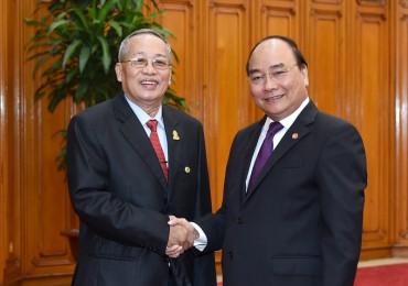 Thủ tướng tiếp Phó Chủ tịch thứ nhất Thượng viện Campuchia
