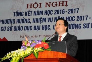 Bộ trưởng Bộ GD - ĐT nói gì về bất cập trong xét tuyển đại học?