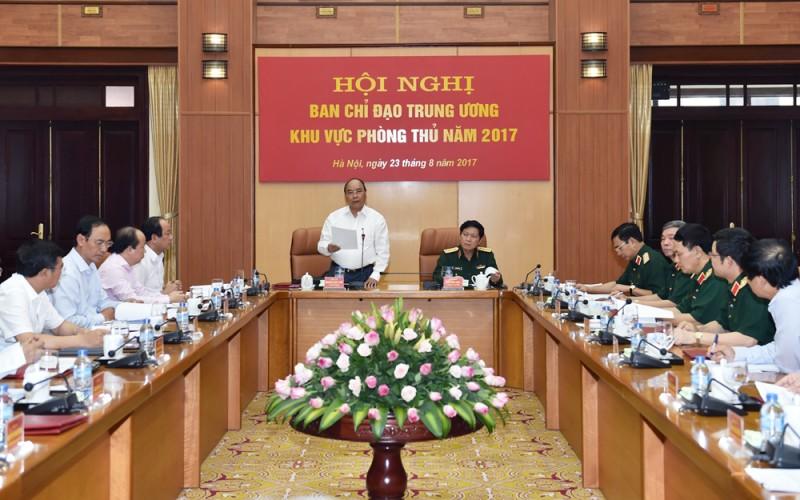 Hội nghị đầu tiên của Ban Chỉ đạo Trung ương về khu vực phòng thủ