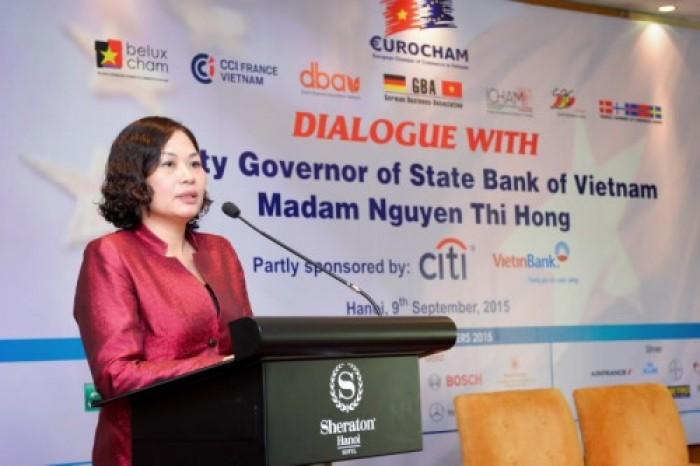 Ngân hàng Nhà nước đối thoại với hiệp hội doanh nghiệp Châu Âu tại Việt Nam