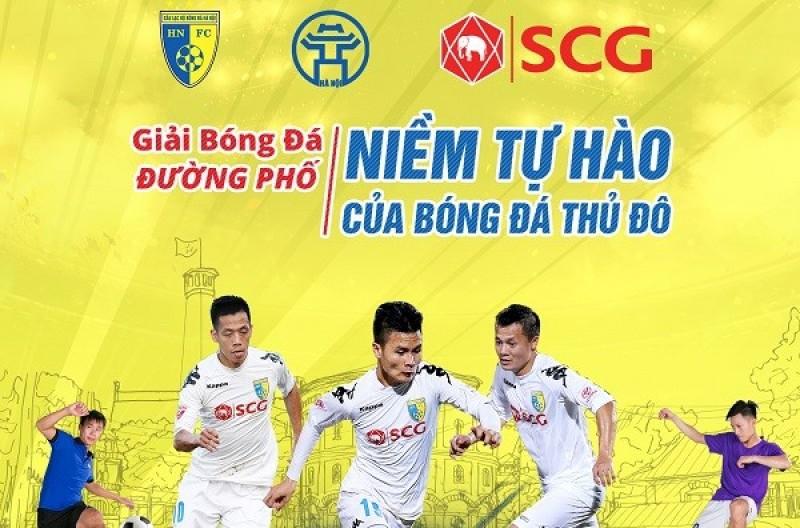 Hà Nội: 50 đội tham dự giải bóng đá đường phố