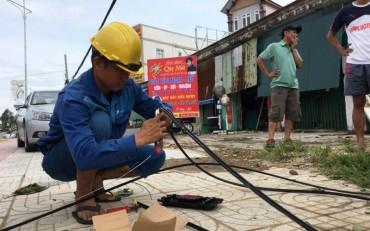 VNPT duy trì tốt mạng Vinaphone hoạt động trong và sau bão