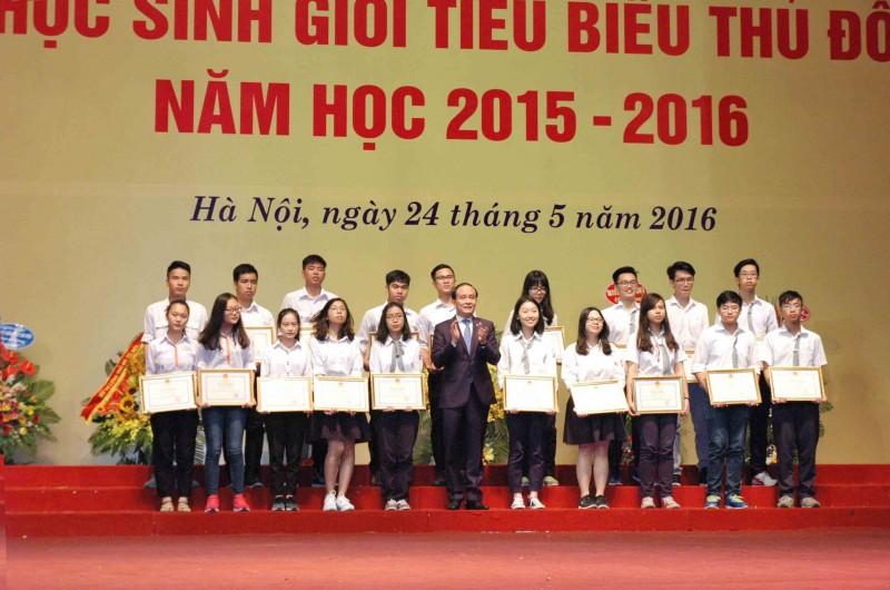 175 học sinh Hà Nội dự thi học sinh giỏi quốc gia 2017