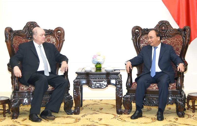 Thủ tướng Nguyễn Xuân Phúc tiếp Bộ trưởng Ngoại thương và Đầu tư nước ngoài Cuba