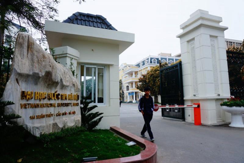 Xây dựng Đại học Quốc gia Hà Nội trở thành đô thị đại học