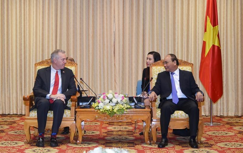 Thủ tướng tiếp Đại sứ Hoa Kỳ tại Việt Nam