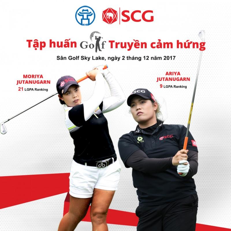 Hai golf thủ nữ hàng đầu thế giới sẽ tới Hà Nội