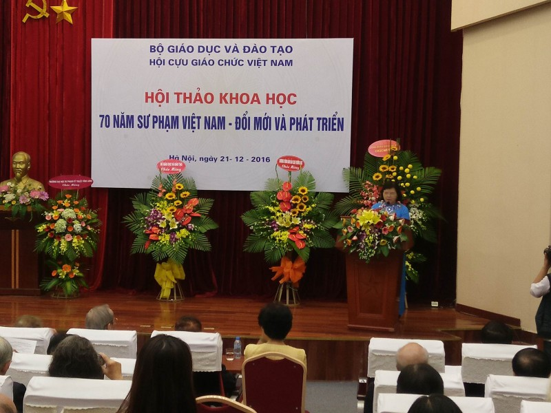 70 năm Sư phạm Việt Nam - Đổi mới và phát triển