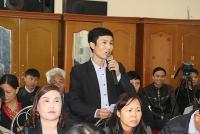 Tiếp xúc cử tri huyện Phú Xuyên sau kỳ họp thứ 11 HĐND Thành phố