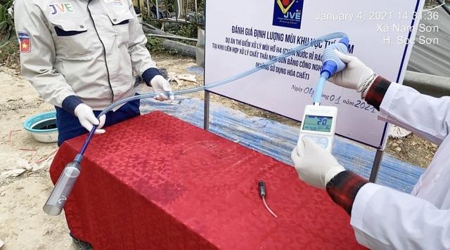 Xử lý thí điểm thành công gần 100% mùi nước rỉ rác của bãi rác Nam Sơn