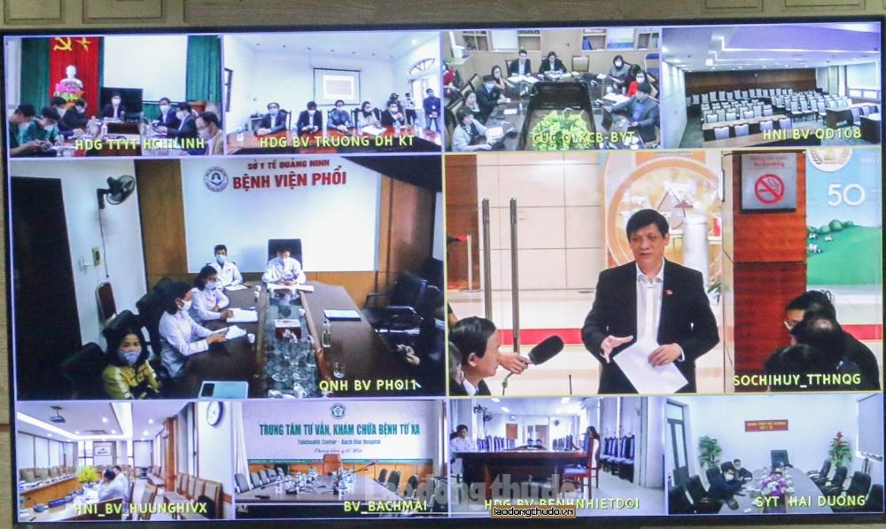 Bộ trưởng Y tế: Sẽ chi viện nhân lực, máy móc cho Hải Dương