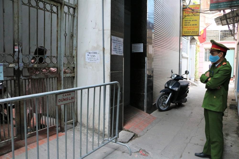Hà Nội ghi nhận ca mắc Covid-19 thứ 20 tại quận Cầu Giấy