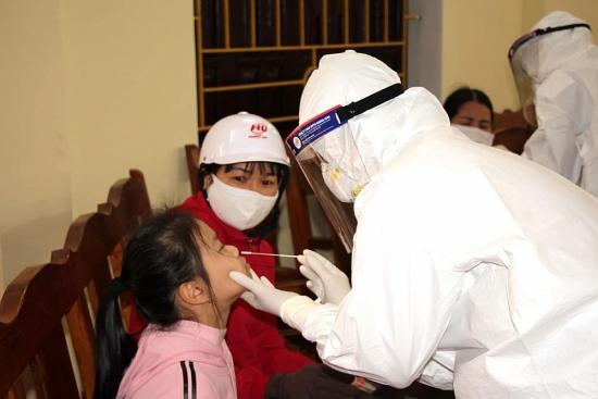Người đi từ Cẩm Giàng - Hải Dương về các địa phương từ 15/1 phải khai báo y tế, lấy mẫu xét nghiệm