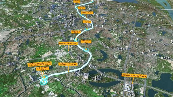 Đề xuất xây dựng hầm ngầm chống ngập kết hợp với cao tốc ngầm dọc sông Tô Lịch