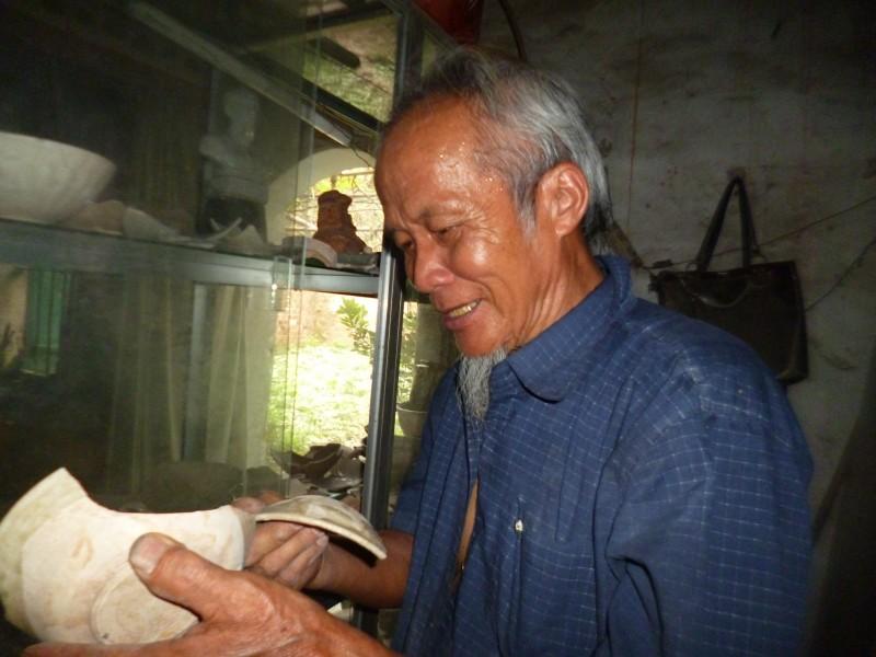 """Hơn 50 năm gìn giữ """"hồn"""" cho làng gốm cổ Kim Lan"""