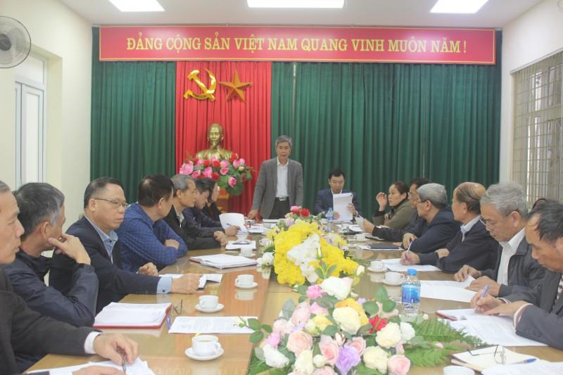 Chuẩn bị nhân sự sau khi sát nhập tổ dân phố tại phường Khương Thượng