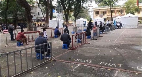 Công điện khẩn số 04 của Chủ tịch UBND Thành phố  yêu cầu phối hợp 2 hình thức xét nghiệm Covid -19