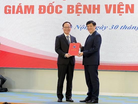 Trao Quyết định bổ nhiệm Giám đốc Bệnh viện Nhi Trung ương