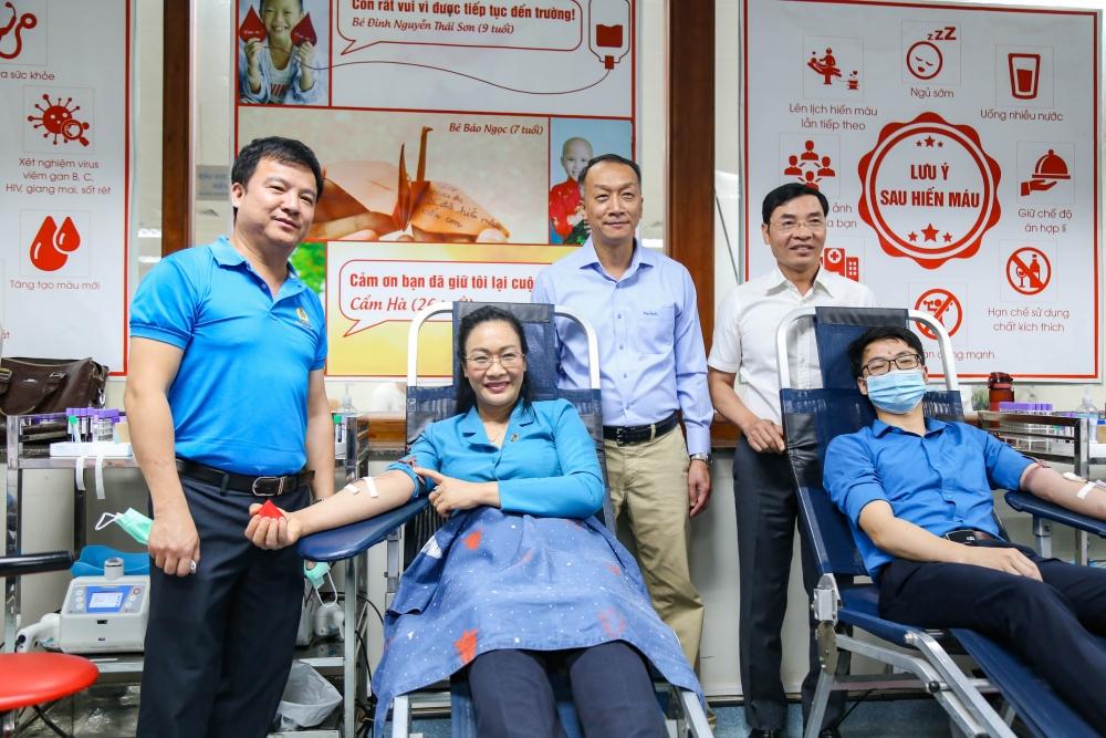 Tiếp nhận 6.530 đơn vị máu từ chương trình