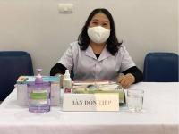 Nữ cán bộ y tế cơ sở hết mình vì cuộc chiến chống đại dịch covid 19
