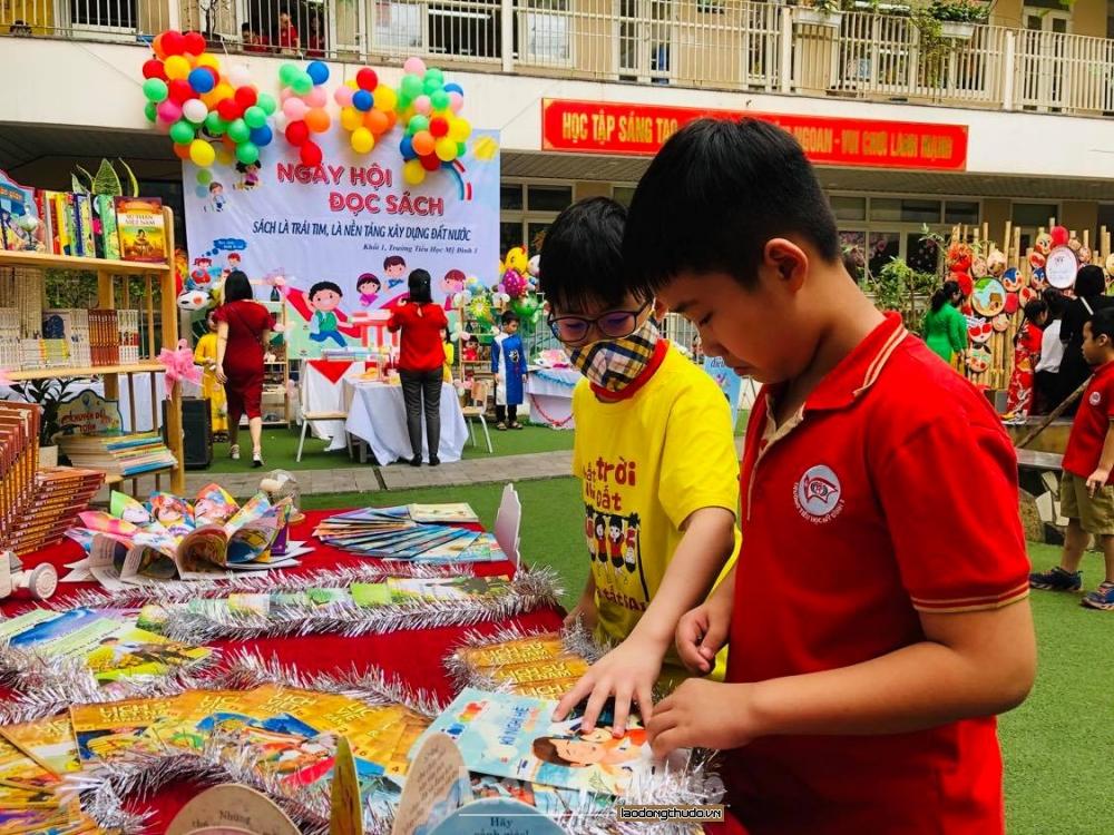 Quận Nam Từ Liêm: Phát động hưởng ứng Ngày sách Việt Nam năm 2021