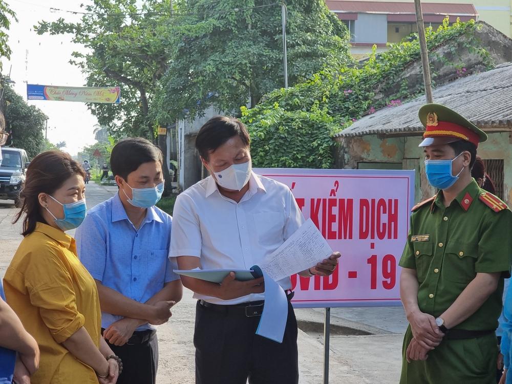 Hưng Yên: Truy vết 34 F1, 145 F2 liên quan bệnh nhân Covid-19