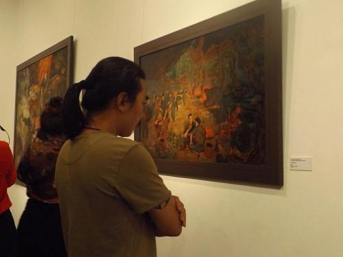 """Khai mạc triển lãm mỹ thuật """"Điện Biên năm ấy"""""""