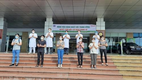 Thêm 8 bệnh nhân Covid-19 khỏi bệnh, Việt Nam có 241 ca khỏi