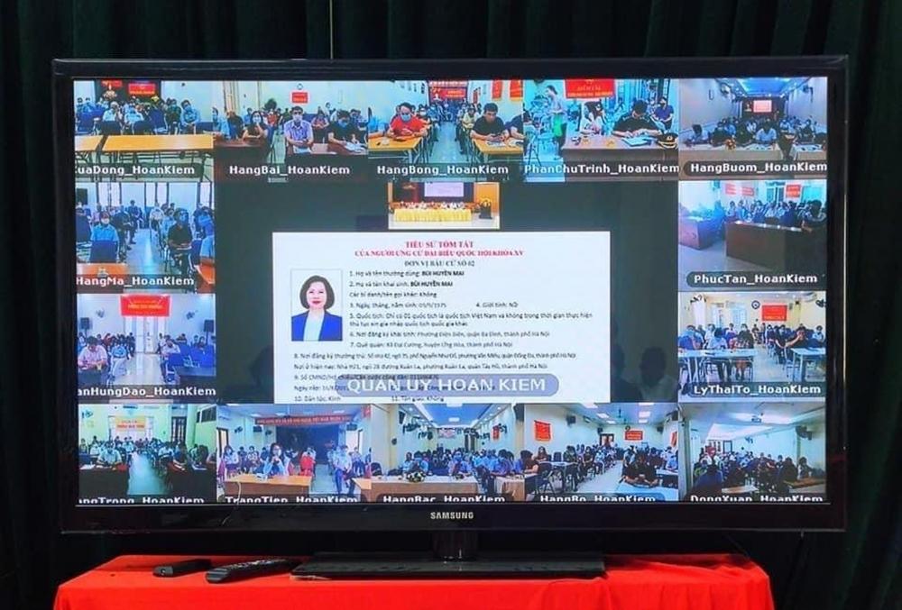 Tổ chức tiếp xúc cử tri trực tuyến phù hợp với yêu cầu phòng, chống dịch