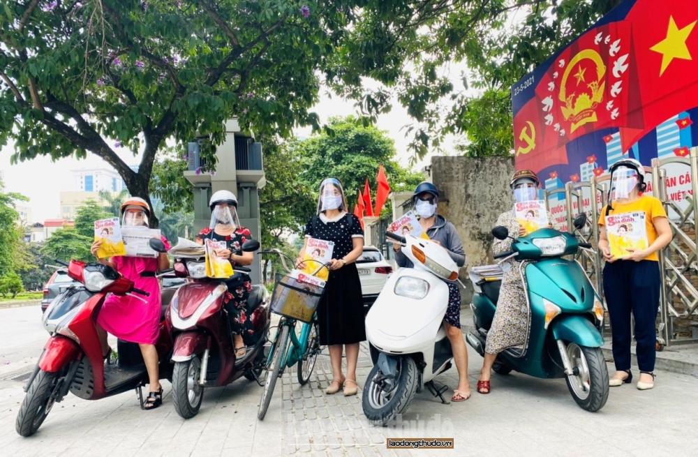 Phụ nữ phường Liễu Giai với nhiều hoạt động hướng về ngày bầu cử