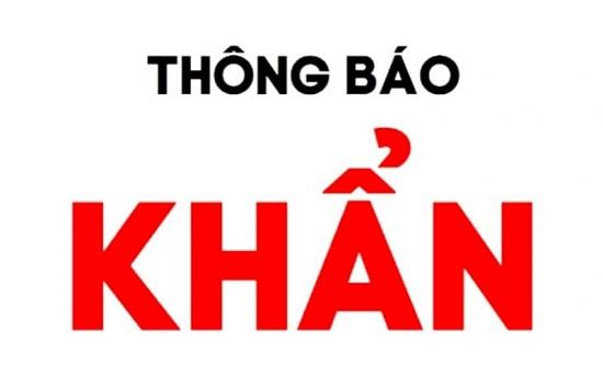 Bộ Y tế thông báo khẩn tìm người trên chuyến xe khách Hà Nội - Lạc Sơn, Hoà Bình