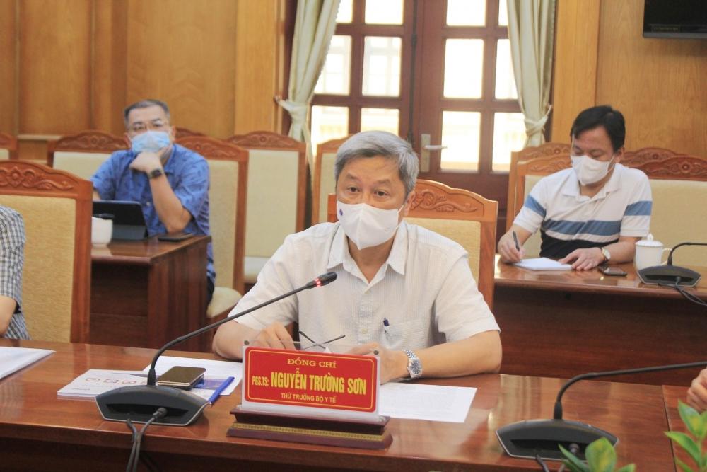 Bộ Y tế tập trung nguồn lực hỗ trợ Bắc Giang chống dịch