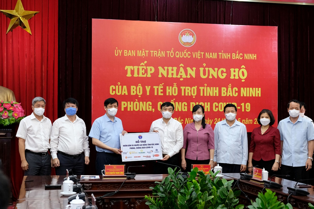 Bộ Y tế kêu gọi cả nước hướng về Bắc Ninh, Bắc Giang