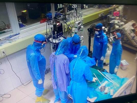 Nữ bệnh nhân 38 tuổi mắc Covid-19 ở Bắc Giang tử vong