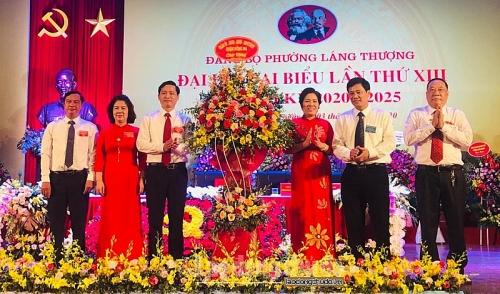 Đảng bộ phường Láng Thượng: Những bước tiến vững chắc sau một nhiệm kỳ