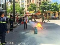 Đẩy mạnh tuyên truyền phòng cháy chữa cháy ở khu dân cư