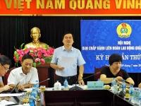 Hội nghị Ban Chấp hành Liên đoàn Lao động quận Ba Đình lần thứ 6 khóa X