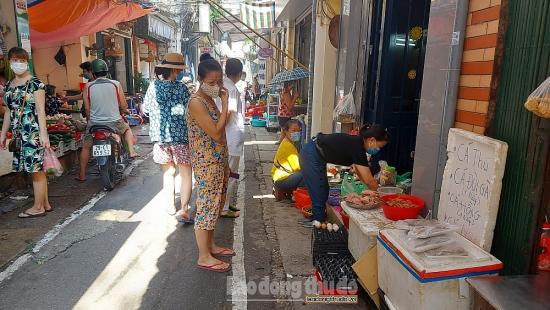 Cần xử lý nghiêm các vi phạm phòng, chống dịch tại chợ dân sinh