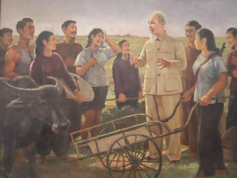 """""""Nhớ về Bác"""" qua 50 tác phẩm tiêu biểu của nhiều thế hệ nghệ sĩ Việt"""