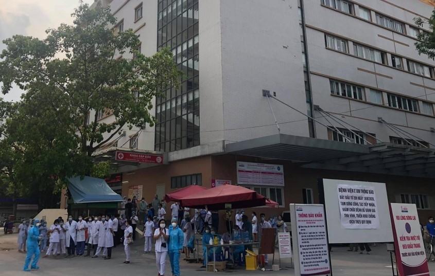 Bệnh viện E hoạt động trở lại từ 18h ngày 20/8 do bệnh nhân 994 không mắc Covid-19