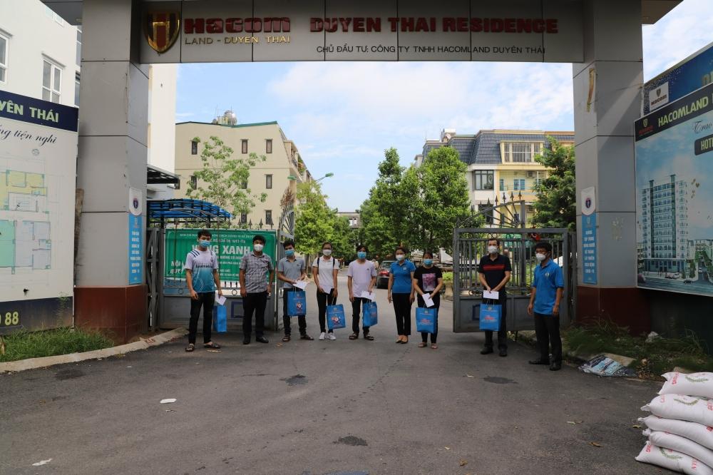 """Tiếp tục trao 258 """"Túi An sinh Công đoàn"""" đến người lao động huyện Thường Tín"""