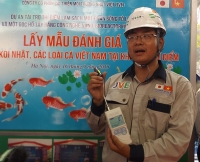 Chỉ số mùi nước sông Tô Lịch giảm hơn 100 lần sau xử lý