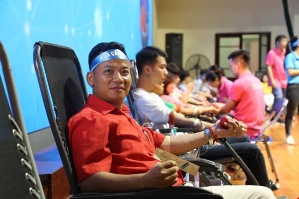 Người dân quận Bắc Từ Liêm hào hứng tham gia ngày hội hiến máu