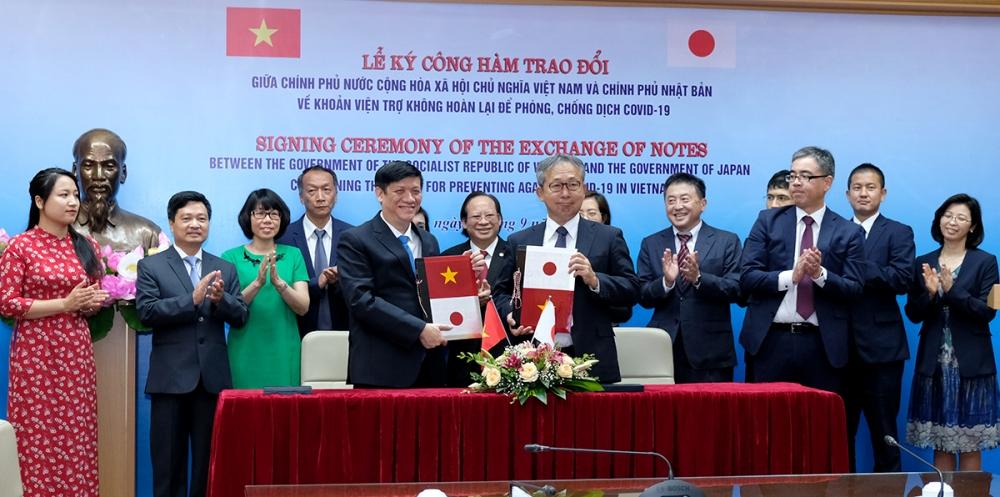 4 bệnh viện ở Việt Nam được viện trợ hơn 450 tỷ đồng chống dịch Covid-19