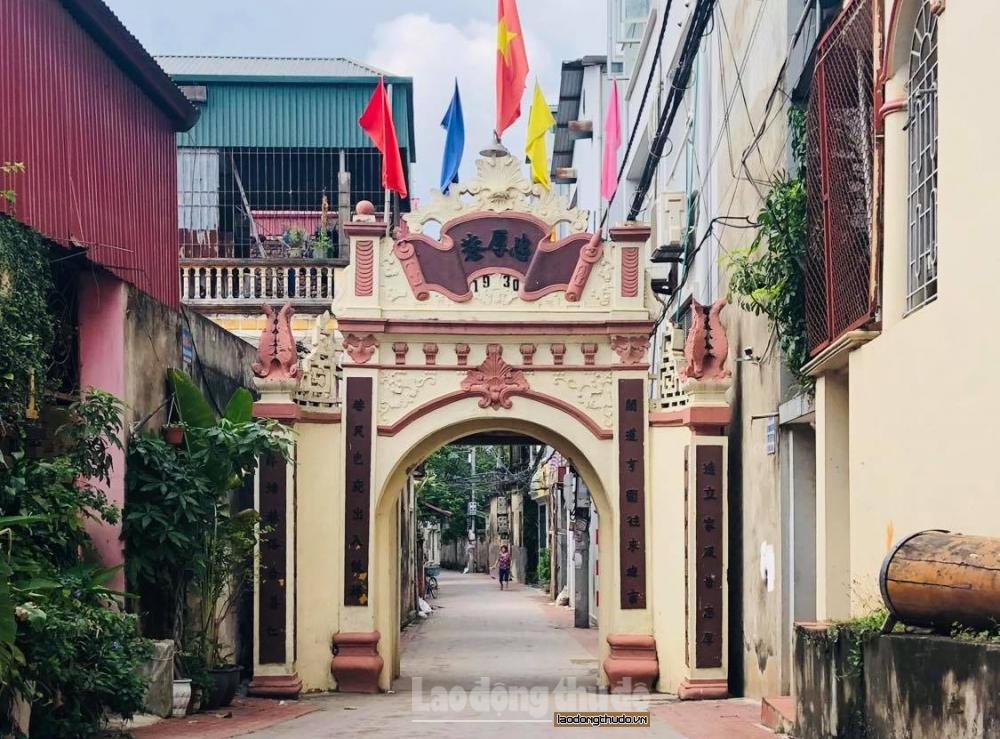 Đất Kẻ Vẽ và những chiếc cổng hình tháp bút trăm tuổi ở Hà Nội