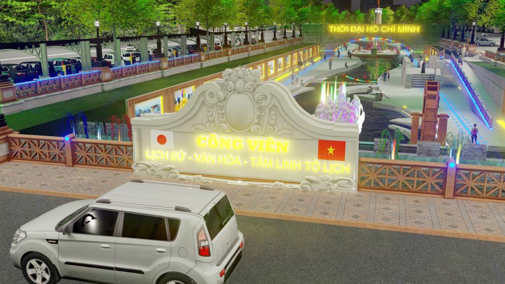 """Chủ tịch JVE: """"Công viên lịch sử - văn hoá - tâm linh Tô Lịch không phải là một dự án để làm giàu"""""""