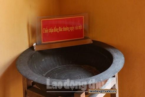 Ngôi nhà lưu giữ những kỷ vật của Chủ tịch Hồ Chí Minh